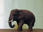 Elefant.Teaktræ.12cm.