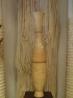 Gulvvase fremstillet af mangotræ.