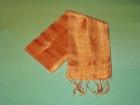 Silketørklæde . Orange