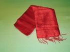 Silketørklæde . Rød