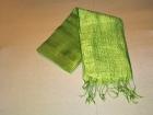 Silketørklæde . Limegrøn.