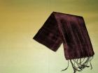 Silketørklæde . Brun.